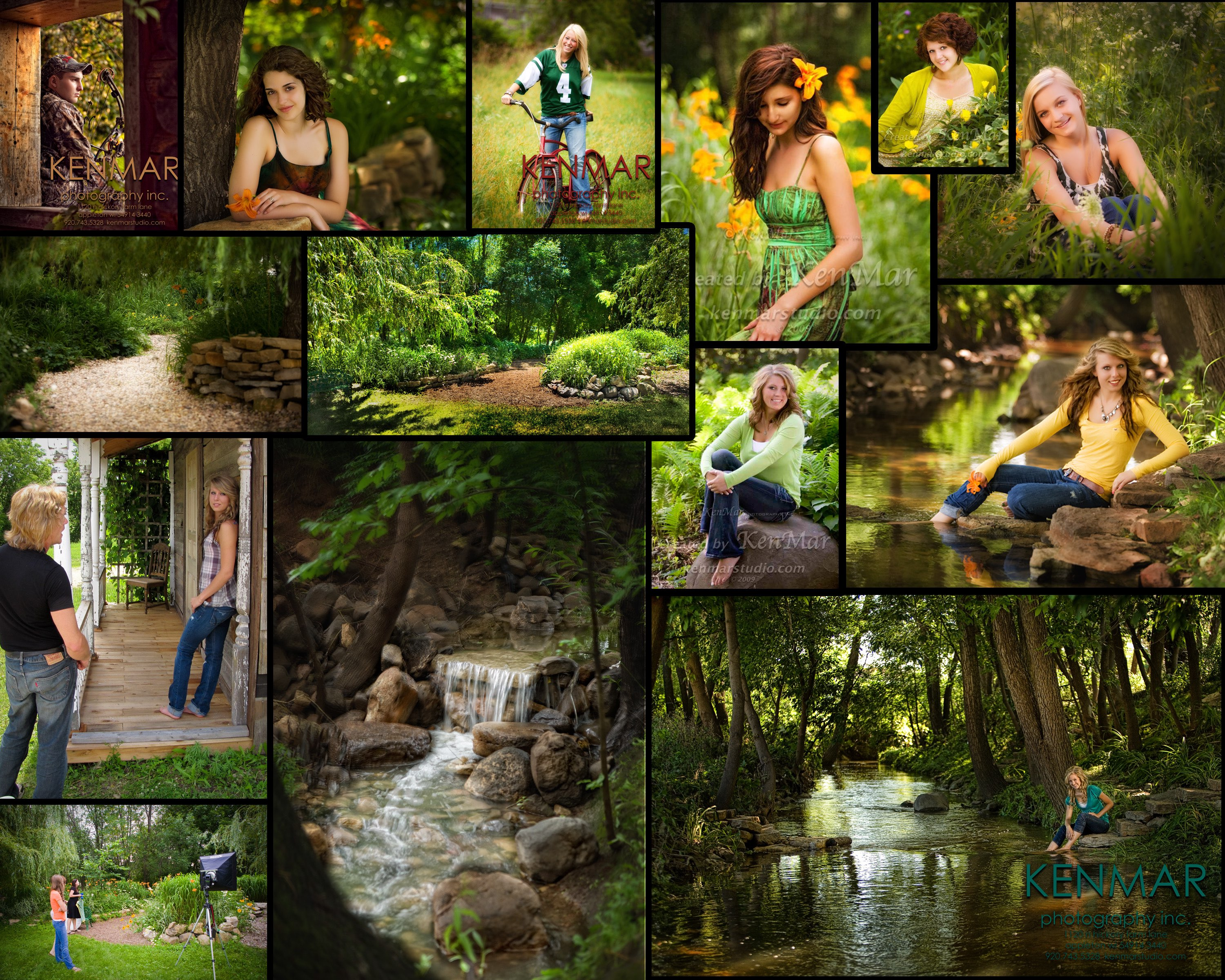 All these image were created at KenMar Gardens!